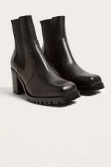 Beth Square Toe Heeled Chelsea Boots