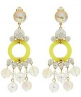 LELE SADOUGHI Boulevard Chandelier Clip-On Earrings ~ statement jewellery