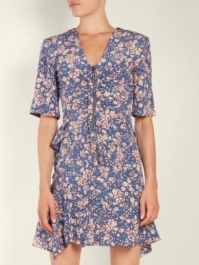 14d129a174 ISABEL MARANT Brodie floral-print zip-through dress ...