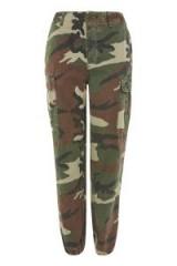 Topshop Combat Camo Trousers