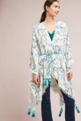 Anthropologie Cosy Garden Kimono | tasseled kimonos