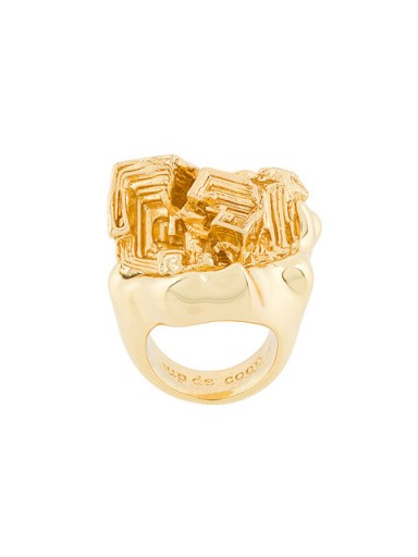 COUP DE COEUR Vortex Stone ring / chunky jewellery