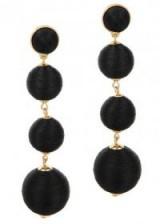 BAUBLEBAR Criselda gold-plated drop earrings | party jewellery
