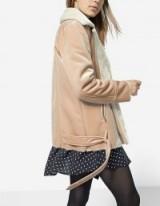 Stradivarius Double-sided velvet biker jacket | luxe style winter jackets