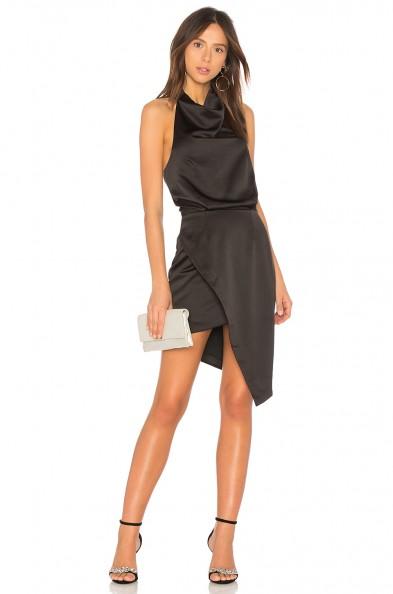ELLIATT X REVOLVE CAMO DRESS ~ lbd ~ asymmetric party dresses