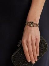 ALEXANDER MCQUEEN Embellished spider cuff ~ statement cuffs