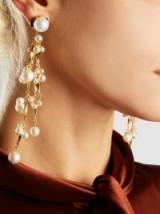 ERICKSON BEAMON Pretty Woman Pearl Earrings ~ statement jewellery