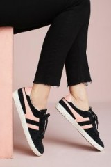 Gola Suede Specialist Sneakers | black and pink trainers