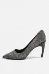 TOPSHOP GRANDURE Chain Court Shoes – glamorous sparkly courts – party heels