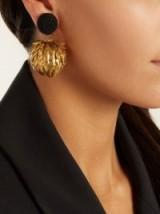 REBECCA DE RAVENEL Lightening clip-on earrings ~ cocktail jewellery