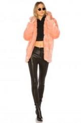 LPA FAUX FUR JACKET 84 in ROSETTE | fluffy pink jackets | winter luxe