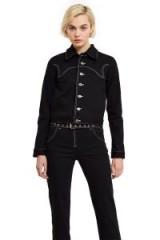 Miaou BLACK DENIM LEX JACKET | western style jackets