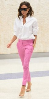 Victoria Beckham effortless style / stylish women