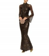 Rachel Gilbert Tuulia Embellished Gown   long luxury party gowns   luxe evening dresses