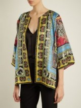ETRO Reversible multi-print silk-twill jacket ~ multi print jackets