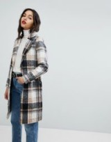 River Island Check Tailored Coat / checked winter coats