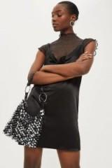 Topshop SAN Sequin Shoulder Bag | sequined bags