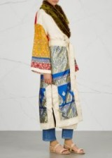 FREE PEOPLE Sari Not Sorry jacquard coat – mixed prints