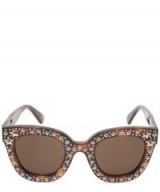 GUCCI Stars Statement Sunglasses / glamorous eyewear
