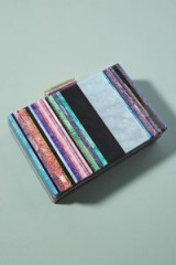 Anthropologie Striped Lucite Clutch ~ luxe style evening bags