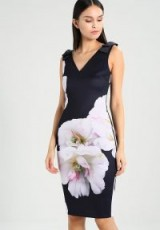 Ted Baker SOLEIA Jersey dress ~ bold floral print dresses