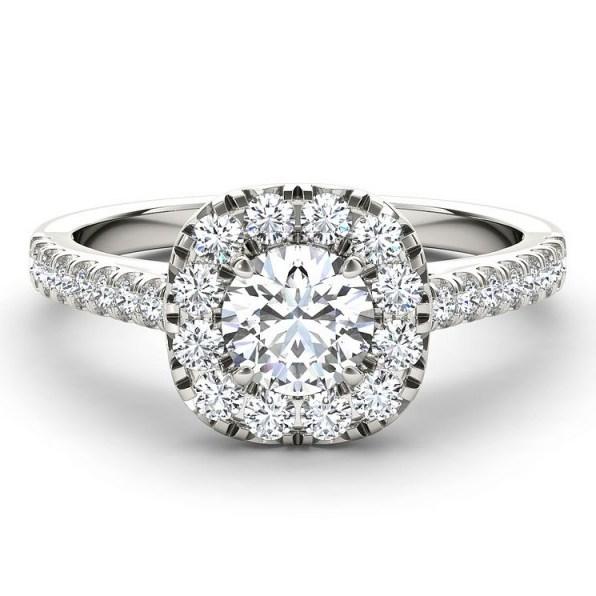 The Diamond Story 18ct White Gold 1 Carat Diamond Ring ~ engagement rings ~ diamonds - flipped