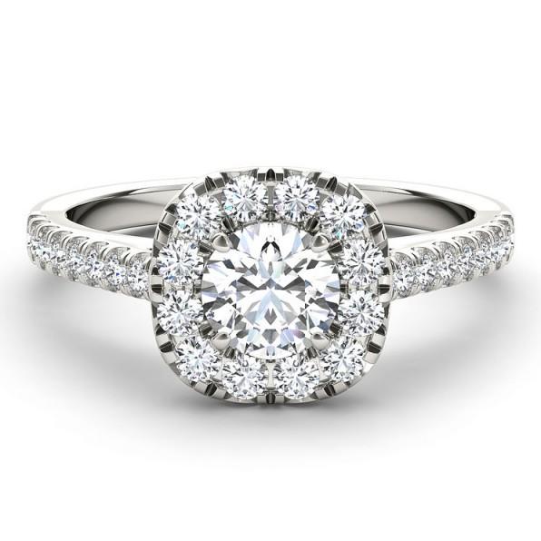 The Diamond Story 18ct White Gold 1 Carat Diamond Ring ~ engagement rings ~ diamonds
