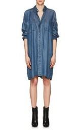 ACNE STUDIOS Jacqui Chambray Shirtdress | blue denim shirt dresses