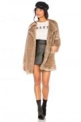BB Dakota MCCOY FAUX FUR COAT | camel coats