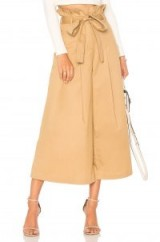 Endless Rose PAPER BAG PANTS | wide leg cropped trousers