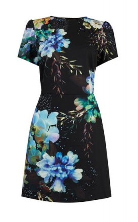 OASIS FAIRYTALE SHIFT DRESS / floral dresses - flipped