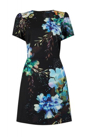 OASIS FAIRYTALE SHIFT DRESS / floral dresses