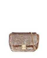 KC Jagger Hailey Sequin Mini Box Crossbody Bag / rose gold bags