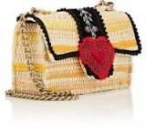 KOORELOO Divine Bijoux Shoulder Bag ~ luxe fabric chain strap bags