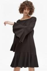FRENCH CONNECTION MATUKU LULA BELL SLEEVE DRESS / lbd