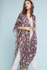 Kachel ~ Minerva Silk Kimono | printed kimonos | oriental style fashion