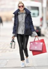 Olivia Palermo's chic shopping style