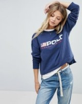 Polo Ralph Lauren Polo Flag Sweat / blue designer sweatshirts