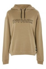 Ivy Park Silicon Logo Hoodie / light green hoodies