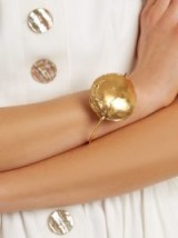 ALIGHIERI The Dance of the Storm gold-plated bangle ~ statement bangles