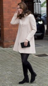 The Duchess of Cambridge maternity style