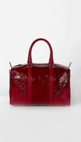 TIBI MERCREDI BAG BY MYRIAM SCHAEFER ~ red patent leather bags