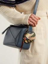LOEWE X William Morris leather coin purse ~ small bird print purses ~ designer bag accessories