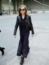 French actress Isabelle Huppert / stylish women