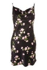 Topshop Floral Cowl Neck Slip Dress | casual cami dresses | spring/summer day time look