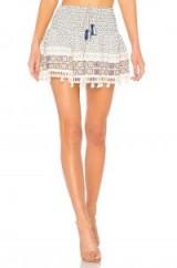 HEMANT AND NANDITA RIPPLE SHORT SKIRT – summer mini skirts – holiday style
