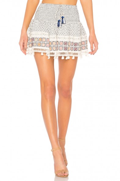 HEMANT AND NANDITA RIPPLE SHORT SKIRT – summer mini skirts – holiday style