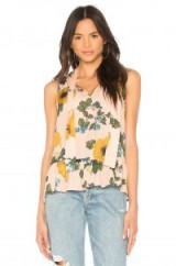 Joie ESTERO TANK DUSTY PINK SAND – sleeveless floral tops