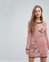 Minkpink San Antonio Mesh Beach Dress ~ sheer pink holiday dresses ~ floral net cover-up