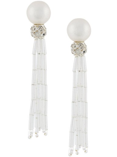 MOY PARIS tassel earring – glamorous statement jewellery – cocktail earrings